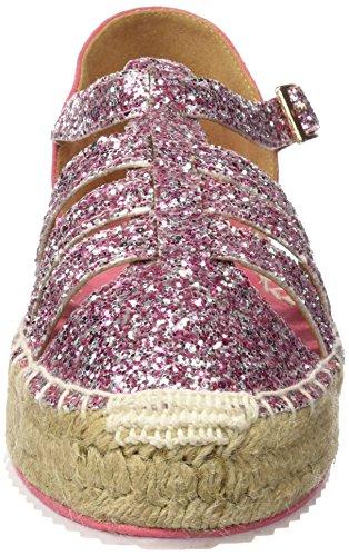 MM 66271 - Zapatos de vestir para mujer Glitter rosa