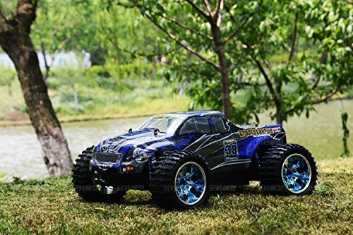 10 Off Road Electric Truck (HSP Rc 2.4G 1:10 4WD Off Road Monster Truck Brushless Electric Car 70km/h High Speed)