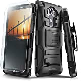 LG G Vista 2 Case, Evocel [Generation Series] Belt Clip Holster, Kickstand, HD Screen Protector, Dual Layer for LG G Vista 2 H740 (2015 Release), Black (EVO-LGV2-AB201)