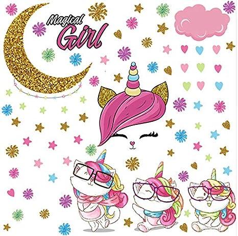 uphold Awake Arco Iris De Dibujos Animados Gato Cuerno ...