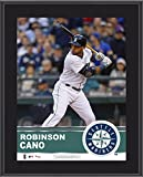 "Robinson Cano Seattle Mariners Sublimated 10.5"" x 13"" Plaque - Fanatics Authentic Certified - MLB Player Plaques and Collages"