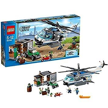 Lego City Helicoptero De Policia 60046 Amazon Es Juguetes Y Juegos
