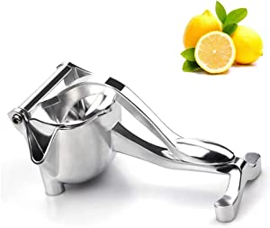 Jumbo Citrus Hand Juicer - Jumbo Lemon and Lime Squeezer with Commercial Grade, High Juice Yield for Pomegranate Watermelon Grapefruit - Premium Quality (Aluminum Alloy)
