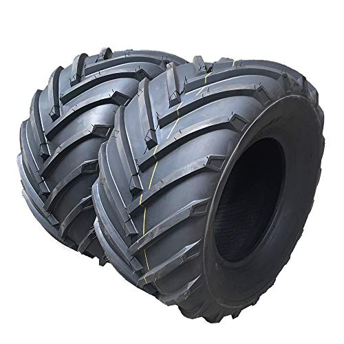 Set of 2 Tubeless 23X10.50-12 4Ply Load Range B Turf Tires for Lawn & Garden Mower 23X10.50-12 P328 Turf Bias LRB For Garden Lawn Mower Tractor Golf Cart Tires