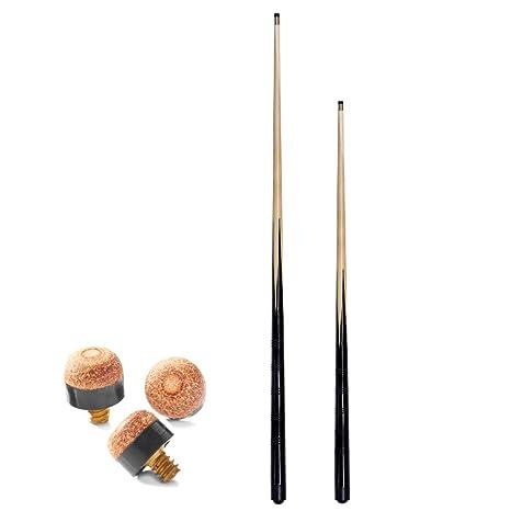 SGL - Juego de tacos de billar (1 de 91,4 cm y 1 de 122 cm, ideal ...