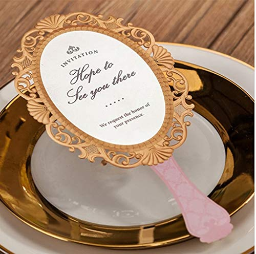 Flamingo Bonut hip resistance band (10 pieces/lot) Wishmade Magic Mirror Invitation Card Christening & Baptism Girl Birthday Party Golden Invitations Cards