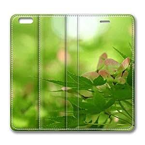 Brain114 6 Plus, iPhone 6 Plus Case, iPhone 6 Plus 5.5 Case, Rising Nature PU Leather Flip Protective Skin Case for Apple iPhone 6 Plus 5.5