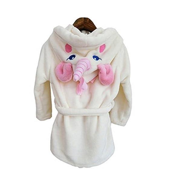 Woneart Niña Albornoz Mujer Camisones Novedad Disfraz de Peluche Unicornio Ropa De Dormir con Capucha Batas Loungewear Regalo de Navidad: Amazon.es: Ropa y ...