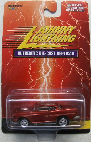 55 Chevy Body (Johnny Lightning 1:64 Scale Red Badman 55 Chevy