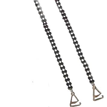 VNJewellery - Tirantes para Sujetador (Tira Doble), diseño de Diamantes, Color Negro: Amazon.es: Juguetes y juegos