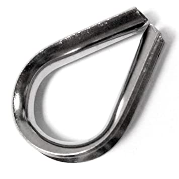 BeMatik - Guardacables para cable de acero inoxidable de 6 ...