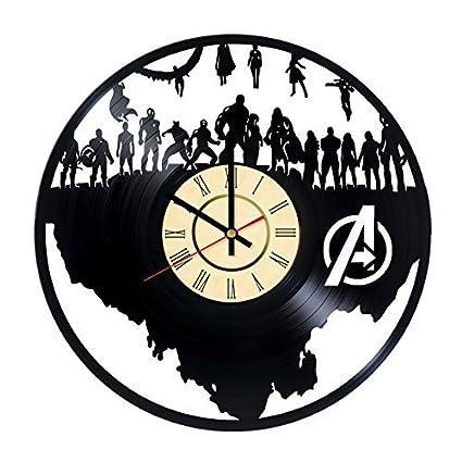 Amazon Com Fun Door The Avengers Design Handmade Vinyl Record Wall