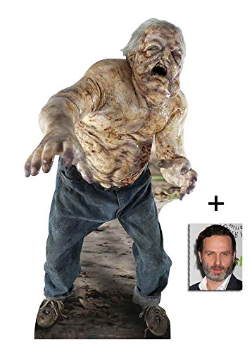 Fan Pack - The Walking Dead Well Walker Zombie Lifesize Cardboard Cutout / Standee / Standup - Includes 8x10 (20x25cm) Photo