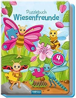 Puzzles & Geduldspiele mit Farbvorlagen Buch Deutsch 2018 Oster-Puzzlebuch mit 4 Puzzles 4 Puzzles