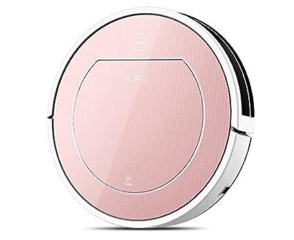 ILIFE V7s Robot Aspirador Mop y limpieza en seco Limpieza doméstica con poder más fuerte para todo tipo de limpieza de pisos