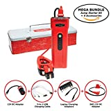 Weego Jump Starter 66 MEGA BUNDLE includes Jump Starter 66 High Performance Battery Booster Plus 12V DC and SAE Adapters, USB Charging Cord for Phones, Tablets, and Laptop Charging Adapter