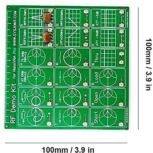 Att/énuateur de filtre Seesii RF Demo Kit NanoVNA RF Tester Board Filtre Att/énuateur pour NanoVNA-F NanoVNA-H Vector Network Analyzer Kits