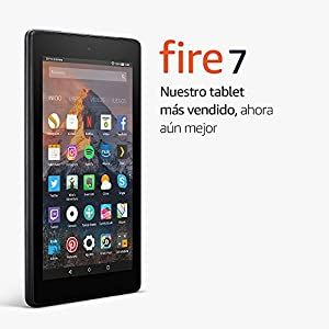 Tablet Fire 7, pantalla de 7'' (17,7 cm), 8 GB (Negro) - Incluye ofertas especiales