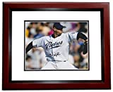 Trevor Hoffman Signed - Autographed San Diego Padres 8x10 inch Photo MAHOGANY CUSTOM FRAME - 2018 Hall of Fame Inductee - Guaranteed to pass PSA or JSA