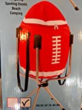 Red Football Cooler / Holds 40 Cans / Comes with Stand