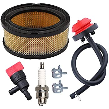 trimmer fuel filter for fuel filter for tecumseh hm100 amazon.com : panari 33268 air filter + fuel shut off valve ...