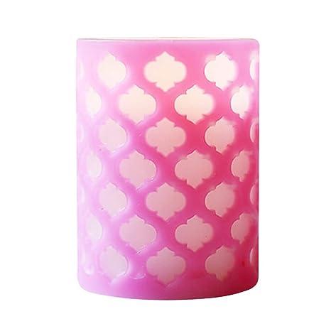 1 unid luz de vela sin llama 10 cm vela de simulación a ...