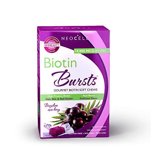 - NeoCell - Biotin Burst - Brazilian Acai Berry - 30 Chews (Packaging May Vary)