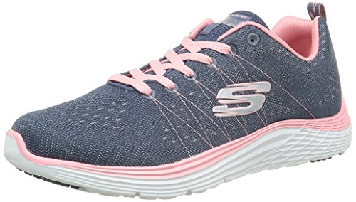Women's Black Nvpk Blue BKHP Trainers Skechers Valeris dqTwdA