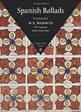 Spanish Ballads, W. S. Merwin, 1556592787