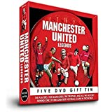 Manchester United Legends Football DVD Gift Set (5 DVD Box Set)