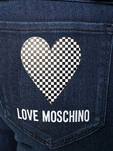 Love Moschino Fashion Woman WQ42307S3386202C Blue Cotton Jeans | Spring Summer 20