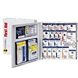 50 Person Large Metal SmartCompliance Food Service First Aid Cabinet Without Medications First Aid Kits for Restaurants
