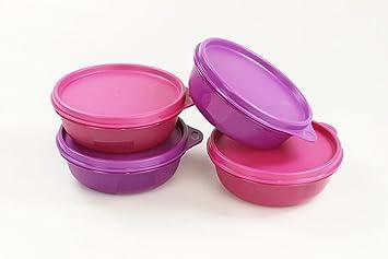Kühlschrank Pink : Tupperware 4x hit parade kühlschrank 300 ml pink 300 ml lila 10030