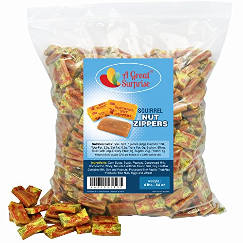 Squirrel Zippers Candy Candies Family product image