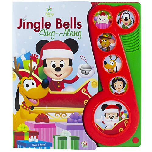 Disney Baby - Mickey Mouse Christmas Jingle Bells Sing-Along Song Book - PI Kids -