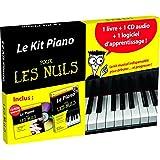 Le Kit piano pour les Nuls: 1 livre + 1CD audio + 1 logiciel d'apprentissage !