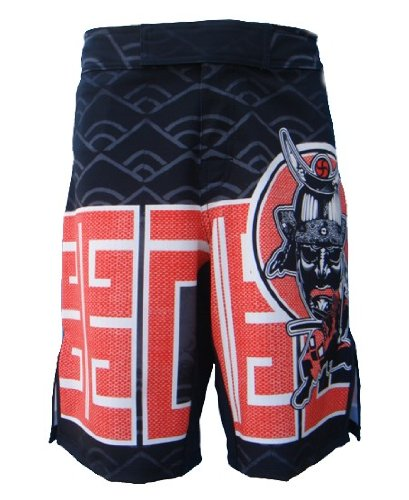 UN92 MF12 Men MMA Fight Short Bushido Black_28, 4-Way Stretch