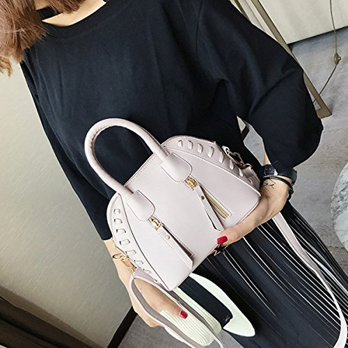 1096 Bag Pattern Tote Beach Lichee White Top handle Women Cross Satchel Monique Handbag Small body Bag 76wggB