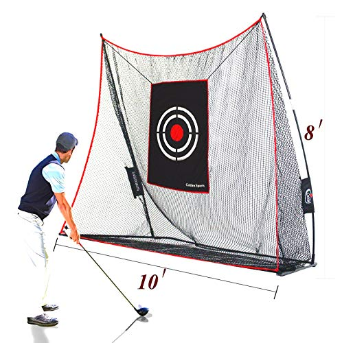 Galileo Golf Practice Net Golf Hitting Nets Driving Range Indoor Outdoor Golf Training Aids with Target Carry Bag