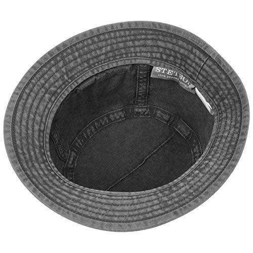 Primavera Trilby Sombrero Hombre Bucket Gander Cloth Algodón Gris De Stetson verano Snx8HOwqx
