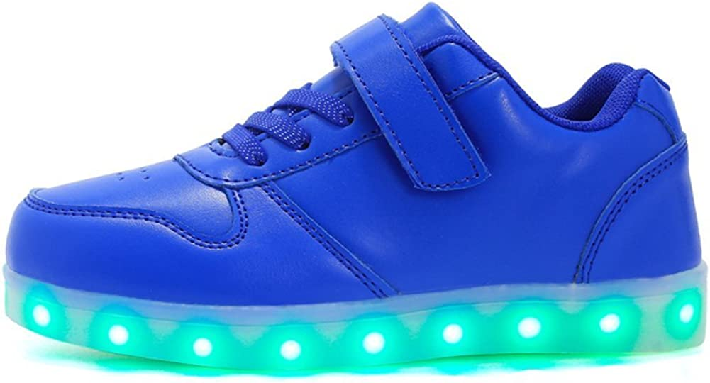 Believed Kids Luminous Sneakers LED Light Up Shoes Glowing USB Charge Fashion Boys Girls Sneakers