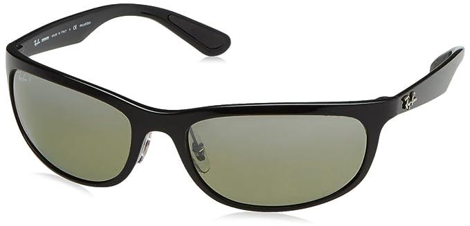 Ray-Ban 0RB4265, Gafas de sol para Hombre, Shiny Black 62: Amazon.es: Ropa y accesorios