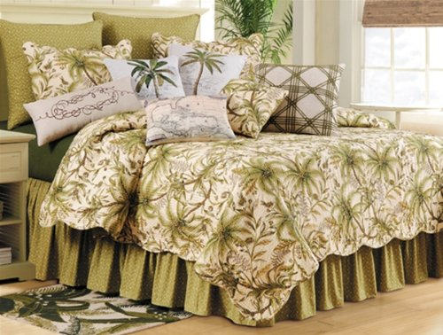 51k%2BTPHmPoL The Best Palm Tree Comforter and Bedding Sets