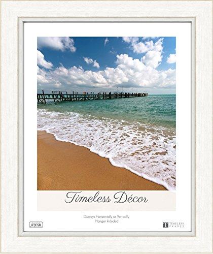 "Timeless Frames 78632 Sawyer Frame, Whitewash, 16"" x 20"""