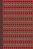 Journal: African Pattern (Red) 6x9 - DOT JOURNAL