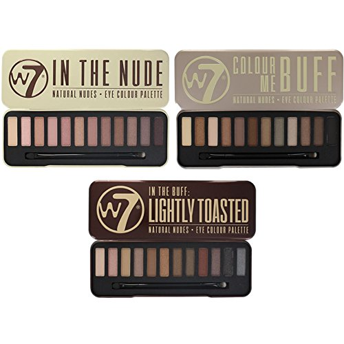 W7 Colour Lightly Toasted Palettes product image