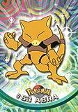 Pokemon - Abra - (Pokemon TCG Card) 2000 Pokemon TV Animation Topps #63