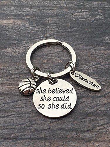 Amazon.com: Baloncesto keychain- Gift- de baloncesto ...