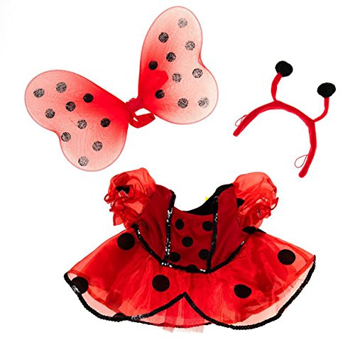 A Bug's Life Costume Ideas (Ladybug Costume with Wings Outfit Teddy Bear Clothes Fit 14