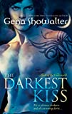 Front cover for the book The Darkest Kiss by Gena Showalter